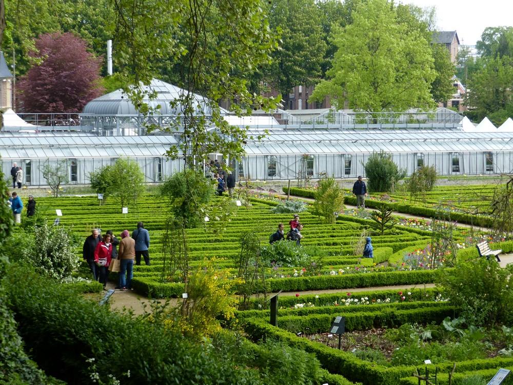 1er mai, Fête au Jardin des Plantes