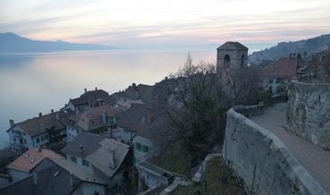 Vers Evian et Genève - Vignoble des Lavaux - Saint-Saphorin