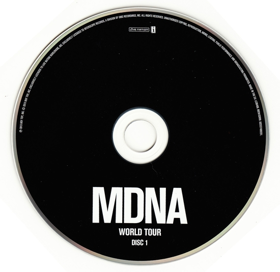 mdna world tour cd1