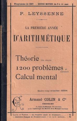 Manuels anciens (programmes 1887 et 1923)