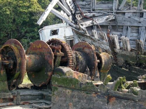 Cimetière de bateaux du Blavet en SUP