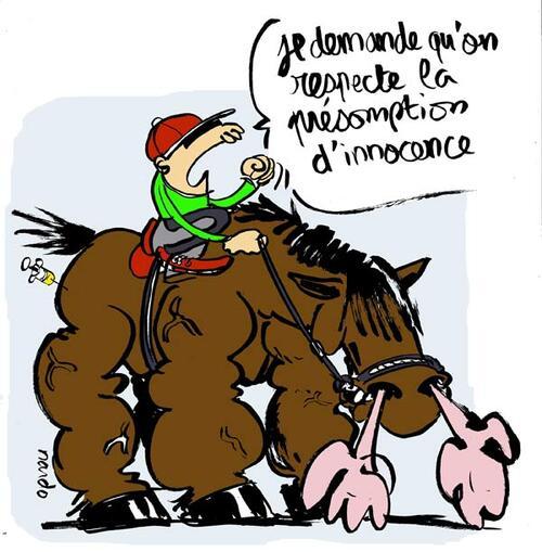 Maltraitance et dopage des chevaux...