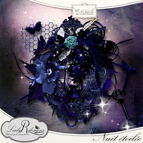 """Nuit Etoilée"" de LadyRdesigns"