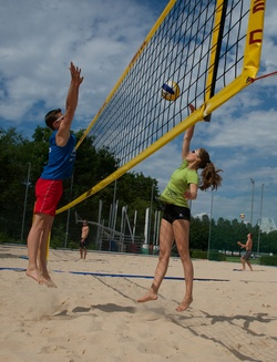 cycle volley-ball
