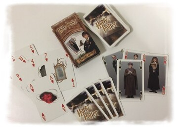 Jeu de cartes Harry Potter