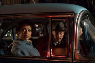 Brooklyn Affairs : Photo Edward Norton, Gugu Mbatha-Raw