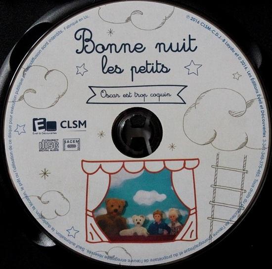 """Bonne nuit les petits : Oscar est trop coquin """"DVD Jeunesse"""""""