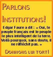 Parlons Institutions