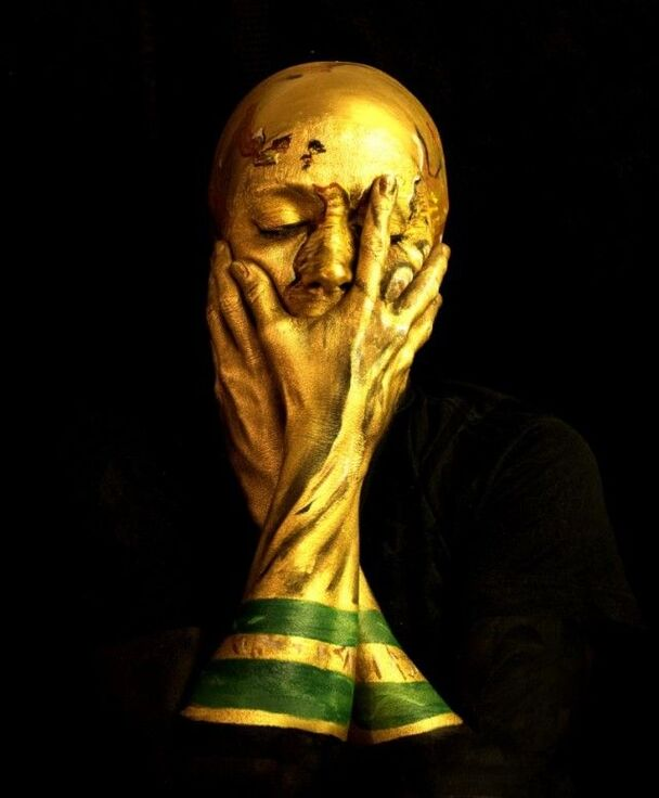 World Cup facepaint by Emma Allen / UK