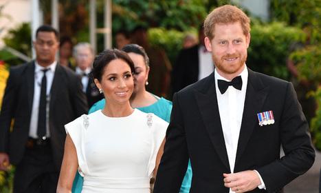 Harry et Meghan au Tonga