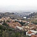 Vue d'ensemble du bourg de Carmignano