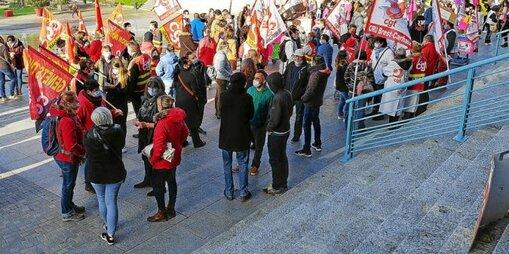 Les manifestants ont demandé une réouverture des négociations du Ségur de la Santé, «Le compte n'y est pas».