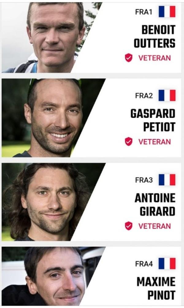 X-Alps 2019 team france