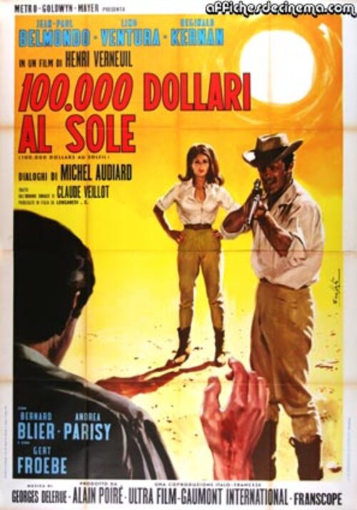 100 000 DOLLARS AU SOLEIL - JEAN PAUL BELMONDO BOX OFFICE 1964