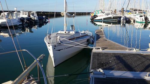 Un Figaro 5 en baie de Quiberon...