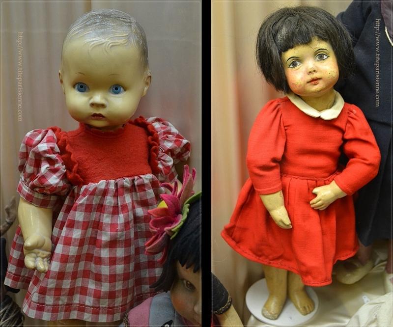 Le Musée de la Poupée : Collection permanente : Les poupées italiennes