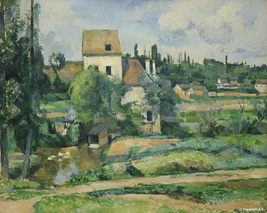 Paul Cézanne, Moulin sur la Couleuvre près de Pontoise