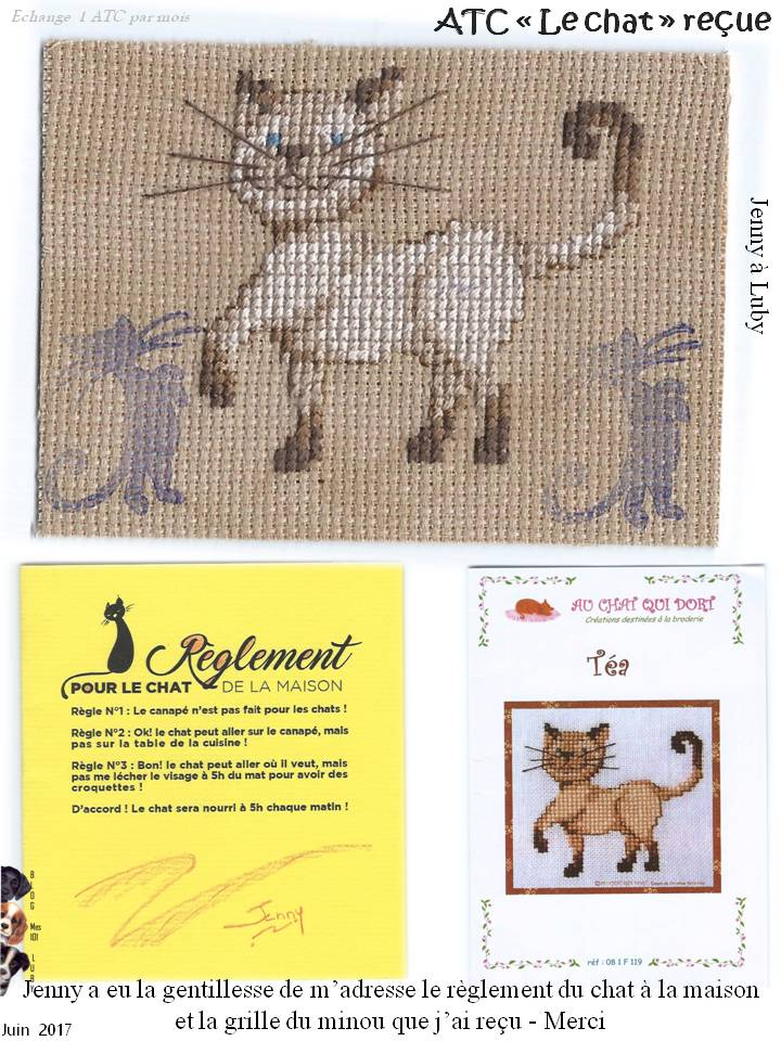 RONDE ATC N°3 - CHAT (juin)