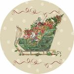 Boules de Noel verre et dentelle