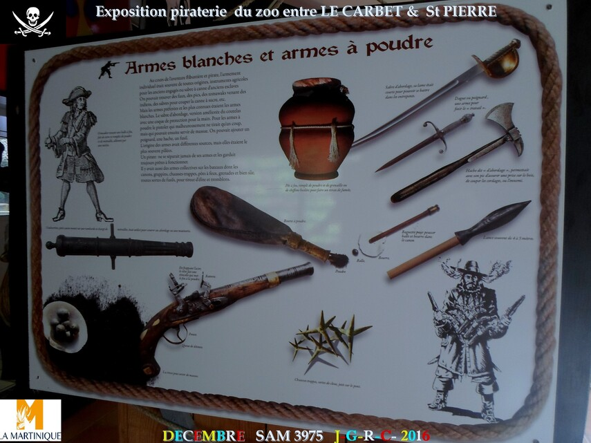 EXPO PIRATERIE ZOO DE MARTINIQUE: 1/2       D    23/02/2018