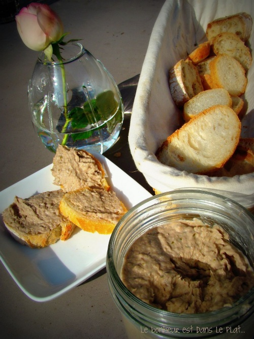Rillettes de sardines &agrave; l'estragon.
