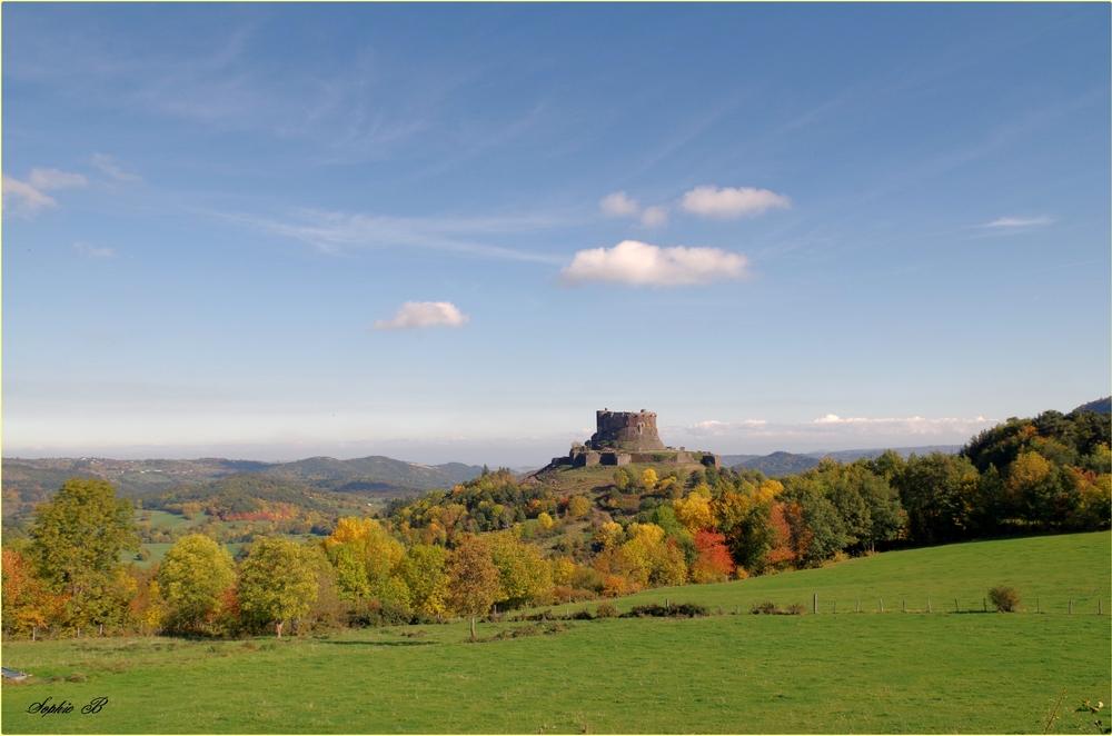 Le château de Murol .