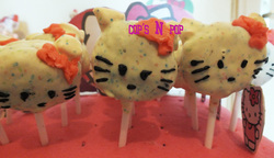 cake pop hello kitty