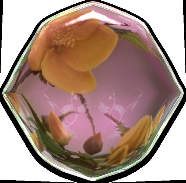 Supports pour créas reflets fleurs
