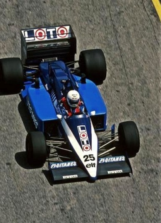René Arnoux F1 (1986-1989)