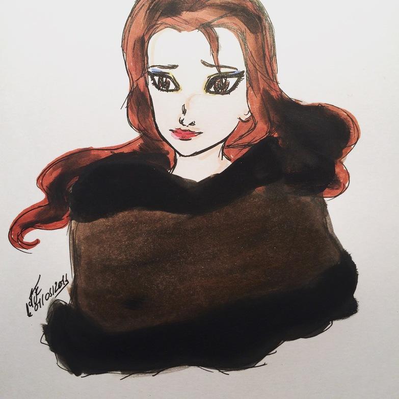 Parce que j'aime dessiner <3