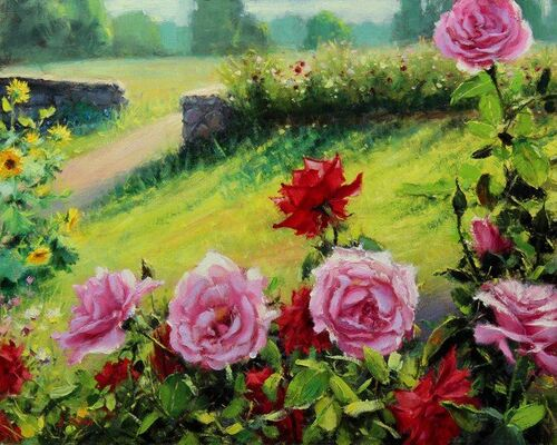 Jardins de Roses Par Bill Imnan