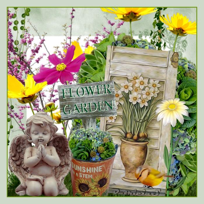 créations avec fleurs imposées