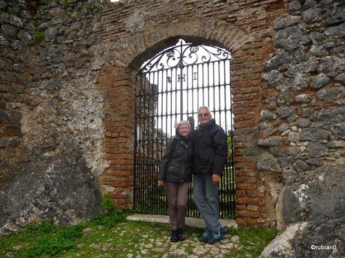 La porte du château de Gaucín