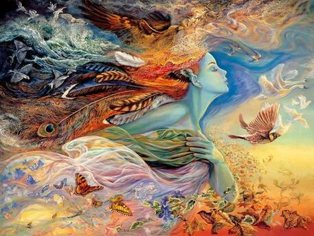Spirit of Flight - Josephine Wall