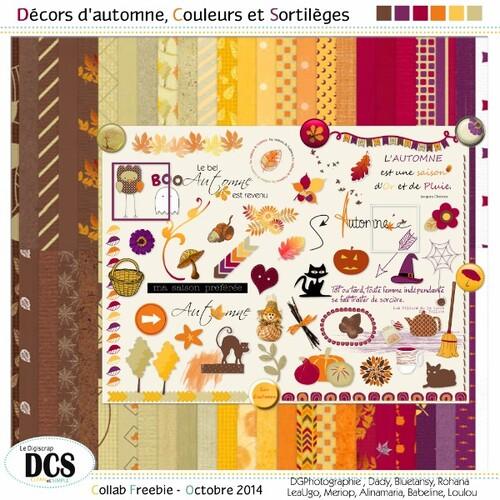 DCS: Décors d'automne, Couleurs et Sortilèges