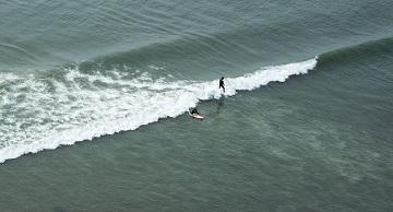 Surfing pépère quand même ...