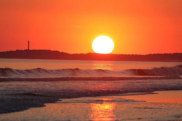 coucher de soleil sur Bonne Anse depuis la Grande Côte10