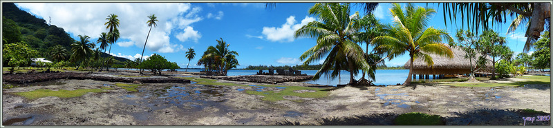 Centre cérémoriel (marae côtiers) de Maeva - Huahine - Polynésie française