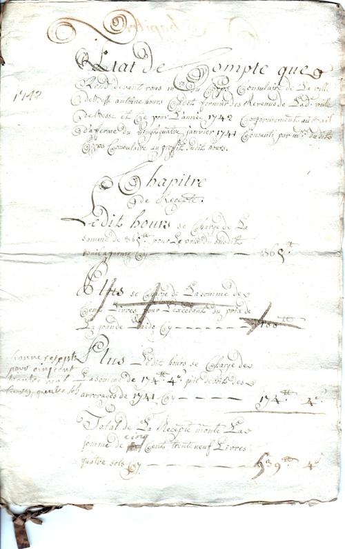 Acte 1742