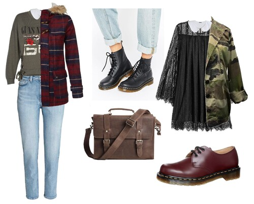 Outfits d'hiver à inspiration grunge
