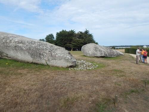Vacances Bretagne: les mégalithes de Locmariaquer