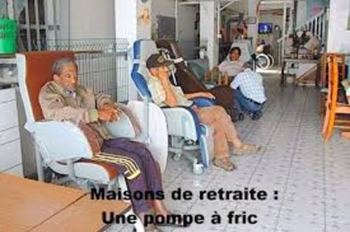 Le scandale des maisons de retraite