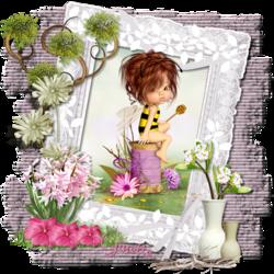 Entre les fleurs