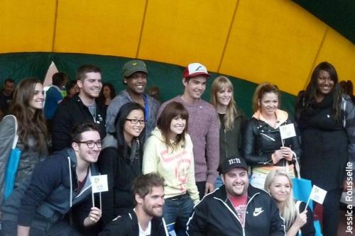 Photos de la rencontre des académiciens avec leurs fans à Edmundston