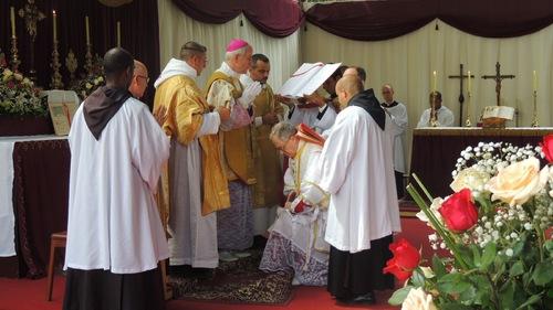 Consécration de Mgr Faure