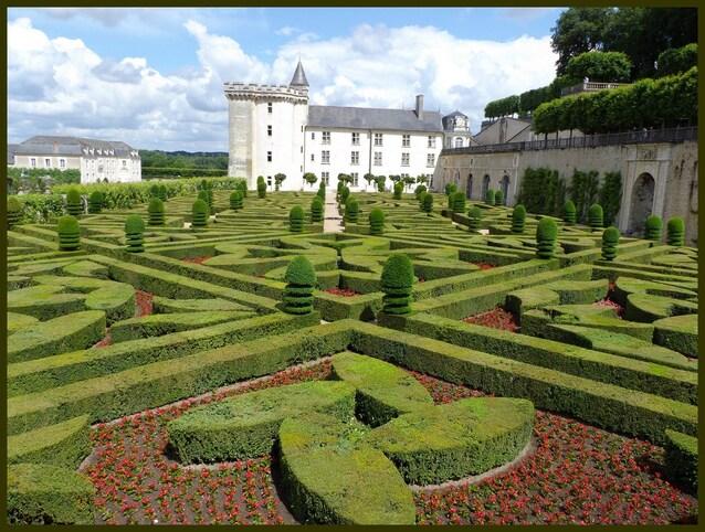 des jardins extraordinaires!!