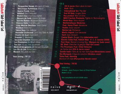 Frenchy But Chic # 143 : VA - Des jeunes gens Modernes (1978/1983) (Ed 2008)