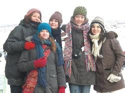 Les filles de Montréal à Québec