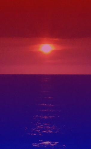 ONDRES coucher de soleil artificiel