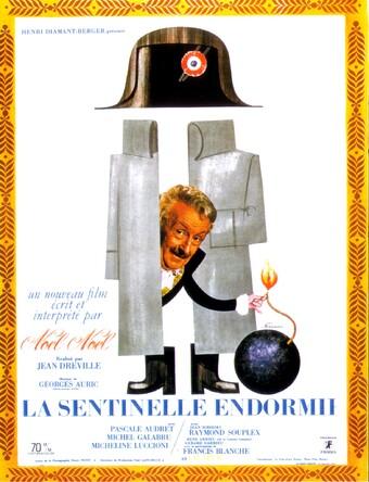 LA SENTINELLE ENDORMIE - BOX OFFICE FRANCE 1966
